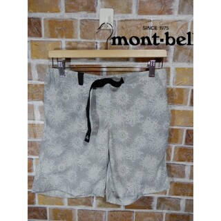 モンベル(mont bell)の【即購入OK】人気ブランド mont-bell  ハーフパンツ  Lサイズ(ショートパンツ)