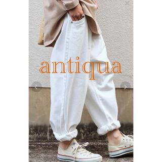 antiqua - antiqua♦ホワイトデニムパンツ