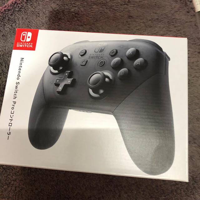 Nintendo Switch(ニンテンドースイッチ)のプロコン エンタメ/ホビーのゲームソフト/ゲーム機本体(その他)の商品写真