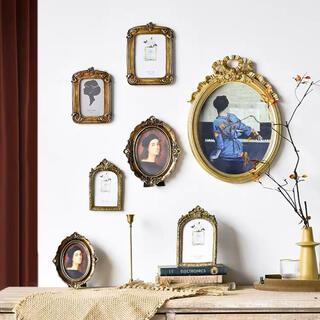 ザラホーム(ZARA HOME)の写真立て フォトフレーム 壁掛け アンティーク調 ウェルカムスペース 結婚(フォトフレーム)