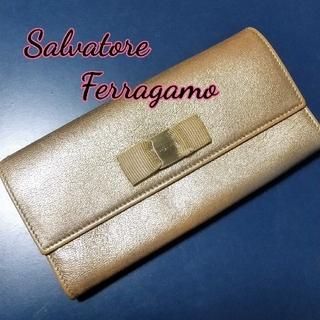 フェラガモ(Ferragamo)の 再値下げ★  Ferragamo  ★  長財布 シリアルあり(財布)