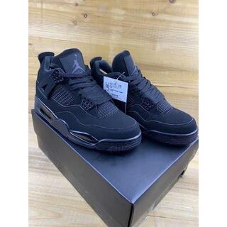 Air Jordan 4 Nike Black Cat エア ジョーダン ナイキ(スニーカー)