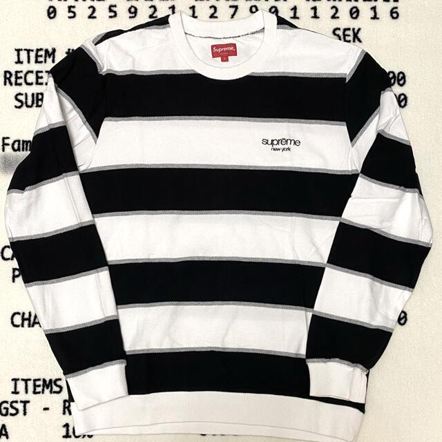Supreme(シュプリーム)の[中古]Supreme Long Sleeve Border Tee L メンズのトップス(Tシャツ/カットソー(七分/長袖))の商品写真