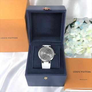 ルイヴィトン(LOUIS VUITTON)のルイヴィトン タンブールスリム エクリプス 2019年 美品☆(腕時計(アナログ))
