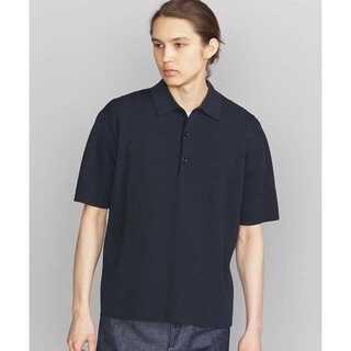 ビューティアンドユースユナイテッドアローズ(BEAUTY&YOUTH UNITED ARROWS)のBY ミラノリブ ニット ポロシャツ(ポロシャツ)