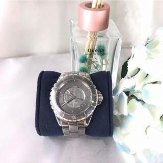 シャネル(CHANEL)のシャネル J12 クロマティック H2934 グレー 美品☆(腕時計(アナログ))