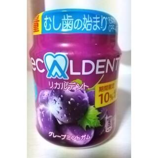 リカルデント グレープミントガム 増量ボトルR(菓子/デザート)