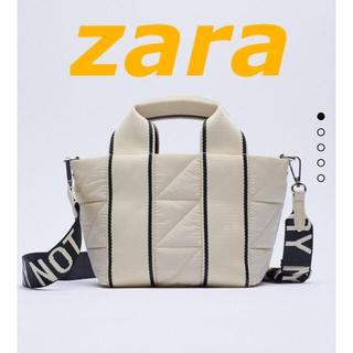 ZARA - ZARA  ナイロンテキストシティバッグ