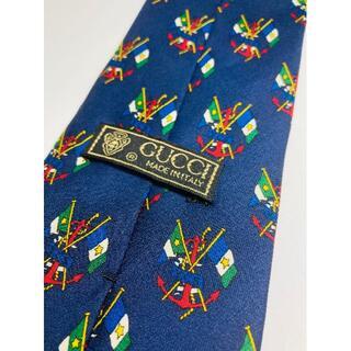 グッチ(Gucci)のGUCCI グッチ/SILK/絹 100%/ビジネス/ネクタイ/イタリア製(ネクタイ)