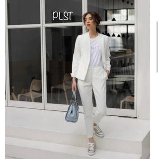 PLST - plst セットアップ スーツ ホワイト