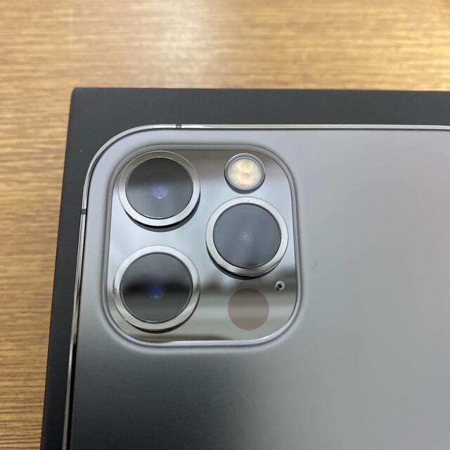 Apple(アップル)の【新品同様】iphone12 pro 128GB グラファイト simフリー スマホ/家電/カメラのスマートフォン/携帯電話(スマートフォン本体)の商品写真