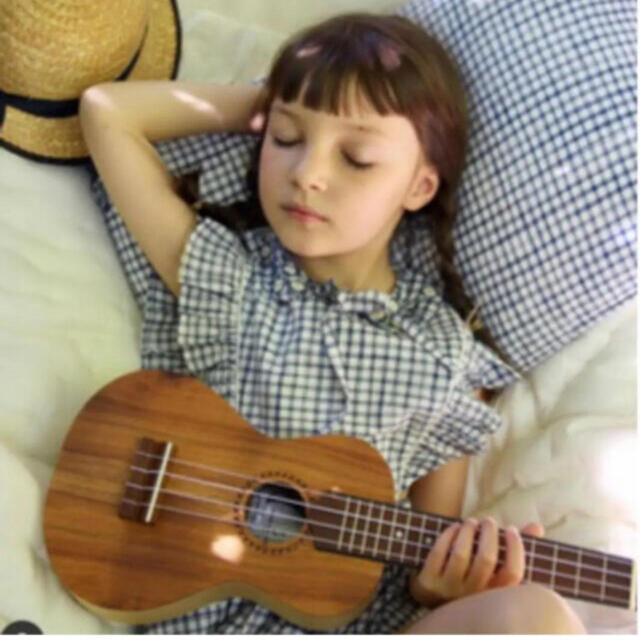 Caramel baby&child (キャラメルベビー&チャイルド)の新品 bonjour diary bleuet 4y bellevie コラボ キッズ/ベビー/マタニティのキッズ服女の子用(90cm~)(ワンピース)の商品写真