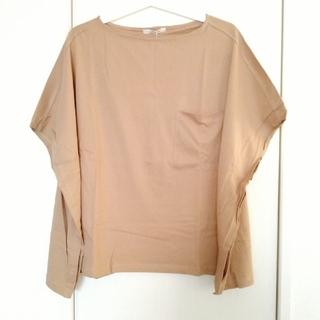 ダブルクローゼット(w closet)のw closet ダブルクローゼット 半袖Tシャツ モカ(Tシャツ(半袖/袖なし))