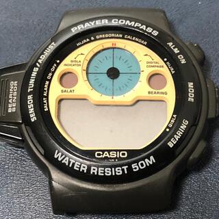 カシオ(CASIO)の【希少】カシオ PRAYER COMPASSプレイヤーコンパス ジャンク 腕時計(腕時計(デジタル))