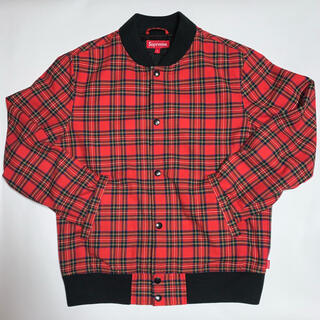 Supreme - supreme plaid bomber jacket ボンバー ジャケット