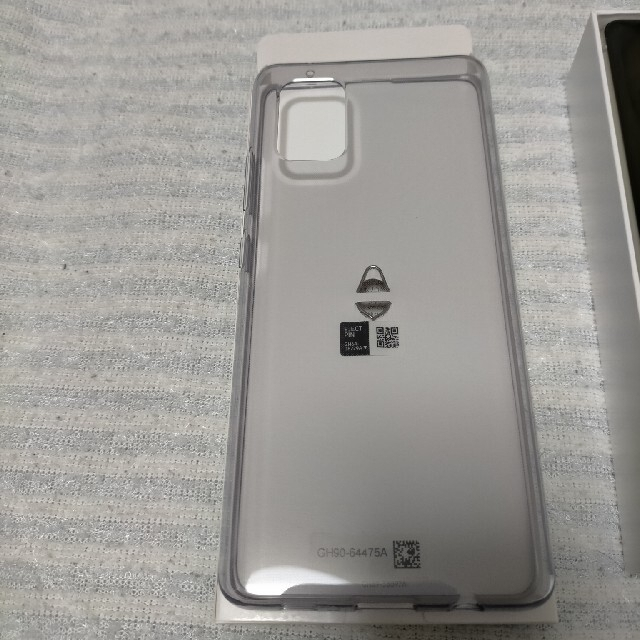 SAMSUNG(サムスン)のGalaxy A51 5G SC-54Aプリズムブリックスホワイト 128 GB スマホ/家電/カメラのスマートフォン/携帯電話(スマートフォン本体)の商品写真