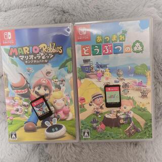 ニンテンドースイッチ(Nintendo Switch)のSwitchソフト!2個セット!!未使用(家庭用ゲームソフト)
