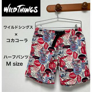 ワイルドシングス(WILDTHINGS)のWILDTHINGS ワイルドシングス コカコーラ ハーフパンツ ショートパンツ(ショートパンツ)