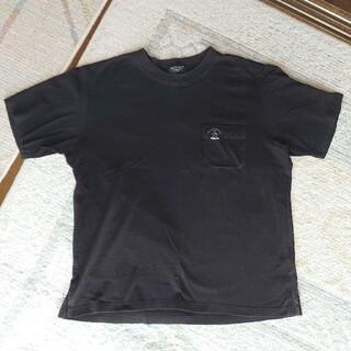 マンシングウェア(Munsingwear)のマンシングウェアグランドスラム ポケット付半袖Tシャツ ブラック LLサイズ(Tシャツ/カットソー(半袖/袖なし))