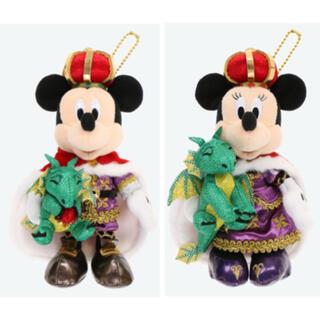 Disney - 【新商品】ぬいぐるみバッジ*ディズニーランド 38周年*ミッキー ミニーセット