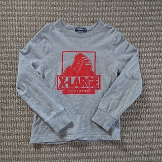 XLARGE - X-LARGE★グレーロンT★120