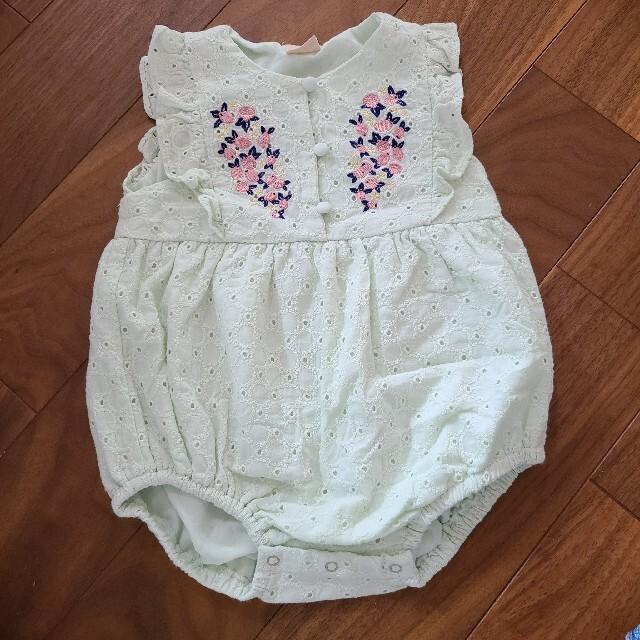 petit main(プティマイン)のプティマイン  キッズ/ベビー/マタニティのベビー服(~85cm)(ロンパース)の商品写真