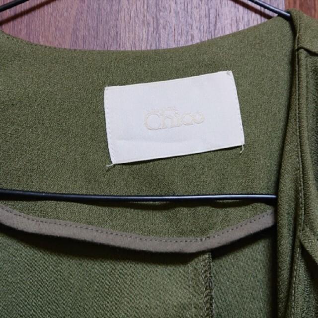 who's who Chico(フーズフーチコ)のWHO'S WHO CHICO フーズフーチコトレンチコート レディースのジャケット/アウター(トレンチコート)の商品写真