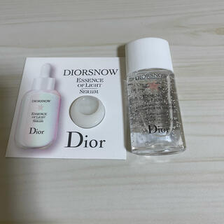 Dior - ディオール 化粧水 サンプル 美容液 スノーライトエッセンス
