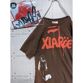 XLARGE - 【レア90's 旧タグ X-LARGE エクストララージ  Tシャツ アメリカ製