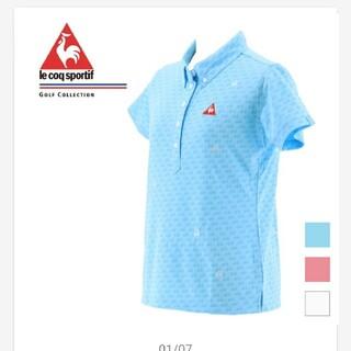 ルコックスポルティフ(le coq sportif)のルコック ポロシャツ レディース M 美品(ポロシャツ)
