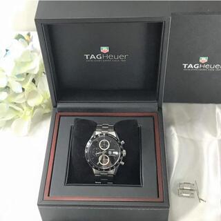 タグホイヤー(TAG Heuer)のタグホイヤー カレラ CV2010-4 クロノ 美品☆(腕時計(アナログ))