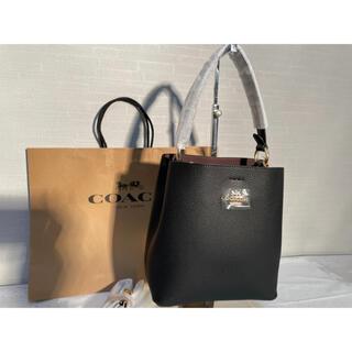 COACH - ☆COACH☆Small Town Bucket Bag ブラック Black
