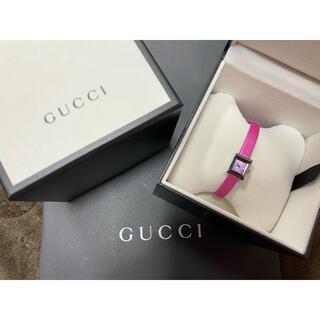 グッチ(Gucci)のgucci 時計 グッチ ピンク(腕時計)