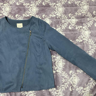 MIIA - ノーカラー ジャケット