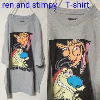 Santa Monica - USED GOOD Regular古着 ren and stimpy Tシャツ