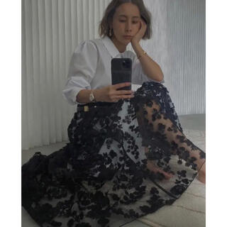 Ameri VINTAGE - LACE LAYERED SHIRT DRESS