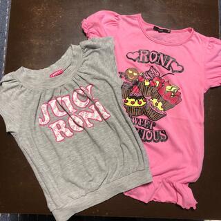 RONI - ロニィ RONI サイズML 130位 Tシャツ 2枚組