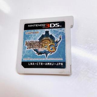 ニンテンドウ(任天堂)の3DS  モンスターハンター3G カセット(携帯用ゲームソフト)