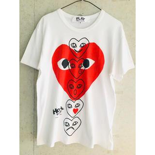 COMME des GARCONS - 【★希少★限定品!】プレイコムデギャルソン HOLIDAY emoji Tシャツ