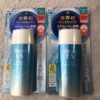 Biore - ビオレ UV アクアリッチ ウォータリージェル(90ml)2本