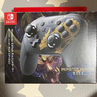 Nintendo Switch - Switch プロコントローラー モンハンライズ