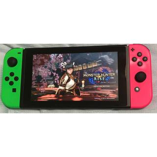 任天堂 - Nintendo Switch 本体 のみ 新型 スプラトゥーンカラー