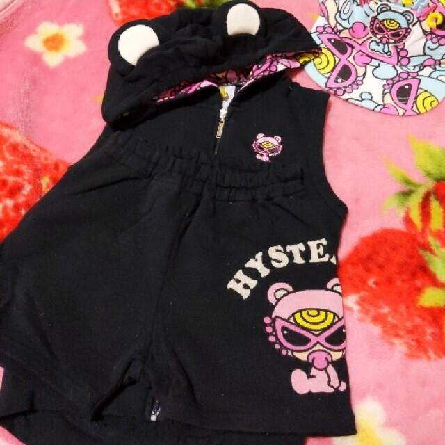 HYSTERIC MINI(ヒステリックミニ)のヒス  テディセトア キッズ/ベビー/マタニティのキッズ服女の子用(90cm~)(Tシャツ/カットソー)の商品写真