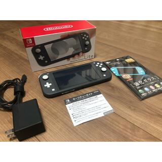Nintendo Switch - NintendoSwitch Lite グレー系
