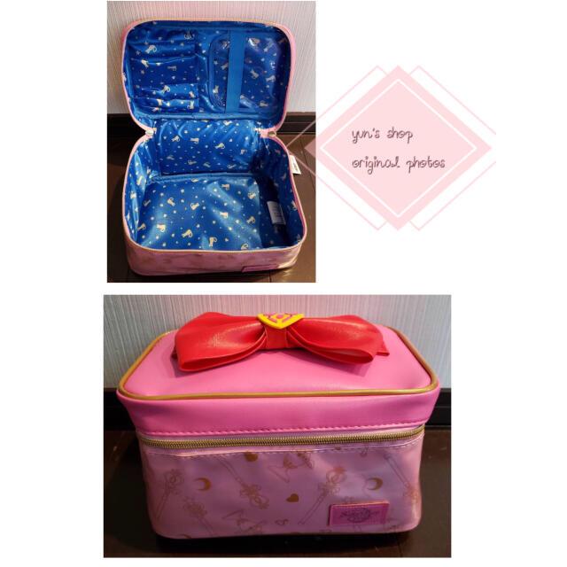 大人気♡セーラームーンメイクポーチ バニティ コスメポーチ 化粧 ピンク韓国 コスメ/美容のメイク道具/ケアグッズ(メイクボックス)の商品写真
