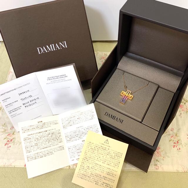 Damiani(ダミアーニ)の【GWセール】ダミアーニ ベルエポック レインボー ピンクゴールドネックレス レディースのアクセサリー(ネックレス)の商品写真