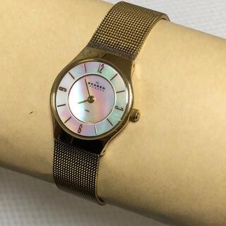 SKAGEN - 電池交換済み!!スカーゲン レディース 腕時計