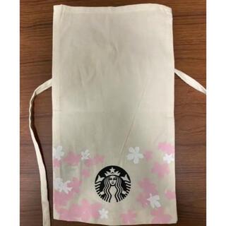 Starbucks Coffee - スタバ ギフト オーガニック コットン バッグ 袋 桜