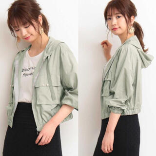 PROPORTION BODY DRESSING - 《美品》プロポーション♡エアリーパール付きマウンテンパーカー size3