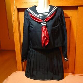 ボディライン(BODYLINE)の長袖セーラー服 M 紺(衣装)